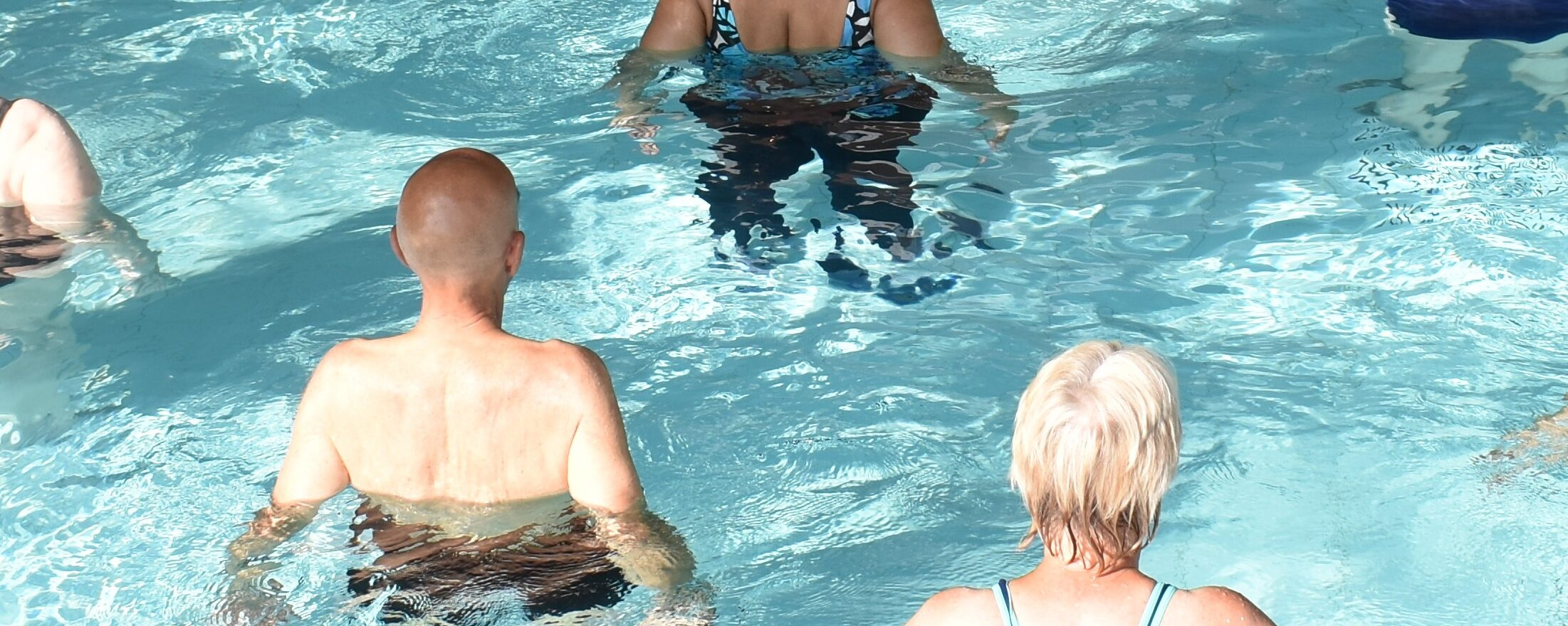 Is aquatic therapy an appropriate option in fall risk management?